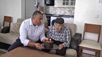 91 yaşındaki Mehmet Amca'ya Cumhurbaşkanı Erdoğan'dan sürpriz doğum günü