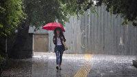 Meteoroloji'den 4 bölge için kuvvetli sağanak uyarısı