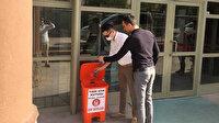 Keçiören Belediyesinden çevre kirliliğini önlemek için tıbbi atık kutulu önlem