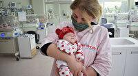 Çöpte bulunan minik mucize: Duru bebek taburcu edildi