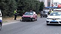 Patlak lastikle polisten kaçan 52 suç kaydı olan ehliyetsiz sürücü tutuklandı
