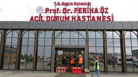 Sancaktepe'de inşa edilen Prof. Dr. Feriha Öz Acil Durum Hastanesi yarın hizmete açılacak