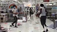 ABD'de marketler yağmalanmaya başladı