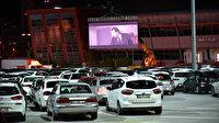 Selçuklu'da arabalı sinemada rekor katılım