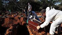 Brezilya'da son 24 saatte bin 86 kişi daha hayatını kaybetti