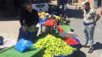 Sokağa çıkma kısıtlamasına rağmen tezgah kuran pazarcılara 10 bin 700 TL para cezası