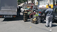 Kısıtlamaya rağmen tezgah kuran pazarcılara ceza