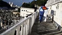 Brezilya'da koronavirüs nedeniyle son 24 saatte 1124 kişi hayatını kaybetti