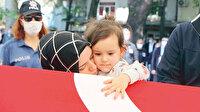 Babaya son dokunuş: Şehit polis memuru Atakan Arslan memleketi Samsun'da son yolculuğuna uğurlandı
