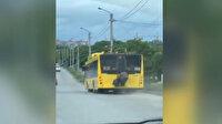 Ukrayna'da yaşlı kadından toplu taşıma sınırlamasına tehlikeli çözüm