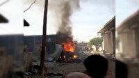 Afrin'deki bombalı terör saldırısında çok sayıda kişi yaralandı