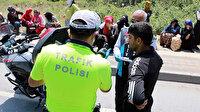 Gaziantep'te, kısıtlamayı ihlal eden 5 bin 108 kişiye ceza
