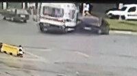 Zonguldak'ta güvenlik görevlisinin öldüğü kazanın görüntüleri ortaya çıktı