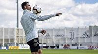 Futbol makinesi Cristiano Ronaldo salgından bakın nasıl döndü!