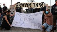 İsrail polisinin zihinsel engelli Filistinliyi şehit etmesi protesto edildi: Filistinlilerin hayatları önemlidir