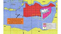 Dışişleri Bakanlığı haritayı paylaştı: Türkiye'nin Doğu Akdeniz'de yeni ruhsat başvurusu yaptığı sahalar