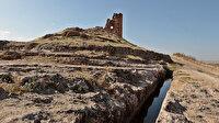 Zerzevan Kalesi'nde 1800 yıl önce milimetrik hesaplamalarla inşa edilmiş: Gizemini hala koruyor
