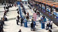 İstanbul Sabiha Gökçen Havalimanı'nda haftalar sonra en yoğun gün yaşanıyor: Uzun kuruklar oluştu