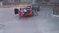 Darp ettiği kişiyi zorla aracın bagajına sokup kaçırmaya çalıştı