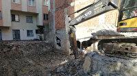 Avcılar'da şok geçirten görüntü: Kiraladığı dükkanın bir duvarının olmadığı ortaya çıktı