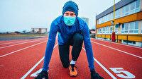 Spor yaparken maske takmak risk oluşturabilir