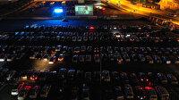 """Başakşehir'de """"Arabada Sinema"""" etkinliğine büyük ilgi"""