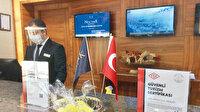 Şehir oteline ilk Kovid-19 sertifikası: Ankara Newpark Hotel müdürü Esengil alınan önlemleri anlattı