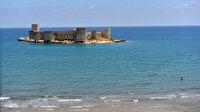 Mersin'in 'UNESCO tescilli' turizm merkezi Kızkalesi'nde bu yıl zam yok