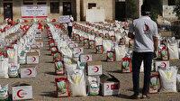 Türk Kızılaydan Yemen'de gıda yardımı: Üç ilde dört binden fazla gıda kolisi dağıtımı hedefleniyor