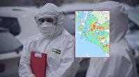 Türkiye'deki büyükşehirlerin koronavirüs yoğunluk haritası güncellendi