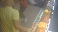Ortaköy kumpirciler çarşısının çökme anı kamerada