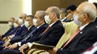 Cumhurbaşkanı Erdoğan Anayasa Mahkemesi yemin törenine katıldı