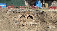 Ortaköy'deki kazıda tarihi kalıntılar bulundu: Çalışmalar durduruldu