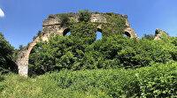 Roma döneminde inşa edilen bin 800 yıllık su kemerleri Kocaeli ormanlarında ayakta kalmak için direniyor