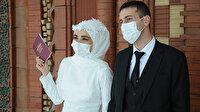 'Yeni Normal'in nikahları da değişti: Gelin, damat, nikah memuru ve şahitler dahil tüm misafirler maske takacak