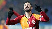 Galatasaray'da Emre Akbaba ve Mariano'nun 'dalya' heyecanı