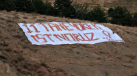 """Süper Lig ekibine taraftarından dikkat çeken mesaj: """"11 tane yürek istiyoruz"""""""