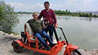 Çiftçi ikiz kardeşler, kısıtlama döneminde 3 tekerlekli çöl aracı yaptı: Bu benim kullandığım cipimden daha iyi