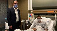 Bakan Kasapoğlu'ndan Muslera'ya ziyaret