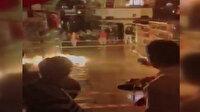 Kapalıçarşı su baskını patlamaya neden oldu