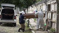 Brezilya'da son 24 saatte koronavirüs nedeniyle bin 238 kişi hayatını kaybetti