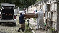Koronavirüs nedeniyle Brezilya'da bin 206, Meksika'da 647, Hindistan'da 375 kişi daha öldü