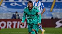 Ramos gol rekoru kırdı, Real Madrid La Liga'nın yeni lideri oldu
