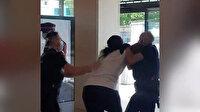 Irkçı saldırısı Fransa'ya sıçradı: Yedi aylık hamile siyahi kadın böyle darp edildi