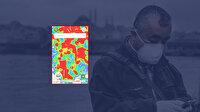 İstanbul'un koronavirüs yoğunluk haritası güncellendi