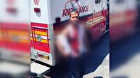 ABD'de dört gaspçının saldırısına uğrayan kişi kafasına saplanan bıçakla dolaştı
