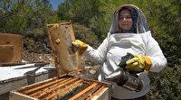 Mersin'de kayınpederi doğum hediyesi olarak verdi: Geçen yıl 500 kilo bal hasadı gerçekleştirdi