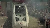 Yerli ve milli ilk elektrikli tren raylar üstünde görücüye çıktı: Fabrika testleri Sakarya'da başladı