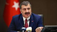 Sağlık Bakanı Koca, vaka sayılarında artış ve azalma gösteren illeri tek tek açıkladı