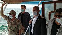 İçişleri Bakanı Soylu: Teknenin içinde 55-60 kaçak göçmen olduğu tespit edildi